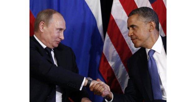 Obama'dan Putin'e telefon
