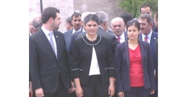 Öcalan'ın yeğeni Meclis'e girdi