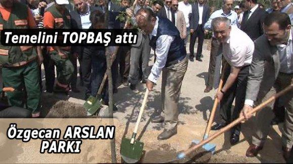 Özgecan Arslan Parkı'nın temeli atıldı