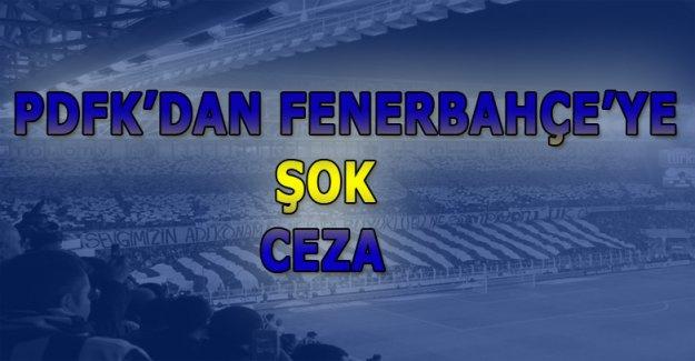PDFK'dan Fenerbahçe'ye Ceza Geldi