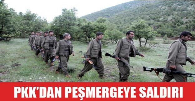 PKK'dan peşmergeye saldırı