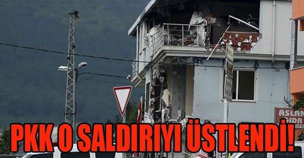 PKK o saldırıyı üstlendi!