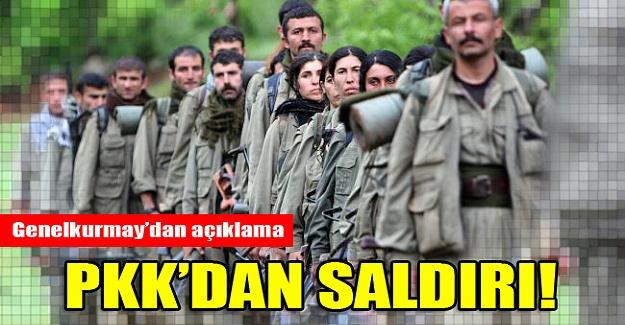 PKK Yüksekova'daki askeri birliğe saldırdı!