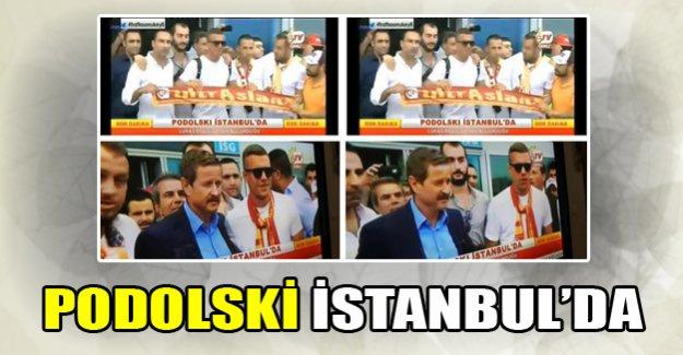 Podolski İstanbul'da!