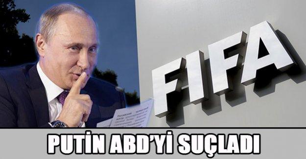 Putin'den ABD'ye FIFA suçlaması!