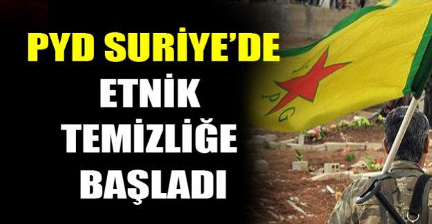 PYD'den  etnik temizlik!