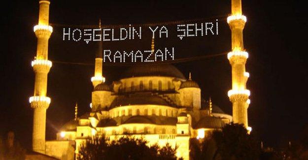 Ramazan ve sahurun ilk günü ne zaman başlıyor!