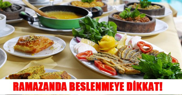 Ramazanda nasıl beslenilmelidir!