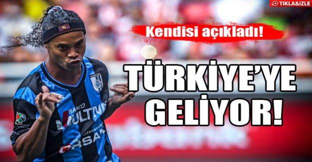 Ronaldinho Türkiye'ye geliyor!