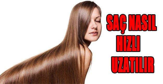 Saçlar nasıl hızlı uzatılır