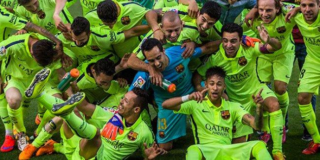 Şampiyon Barcelona