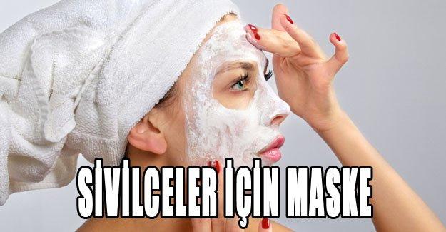Sivilceler için maske