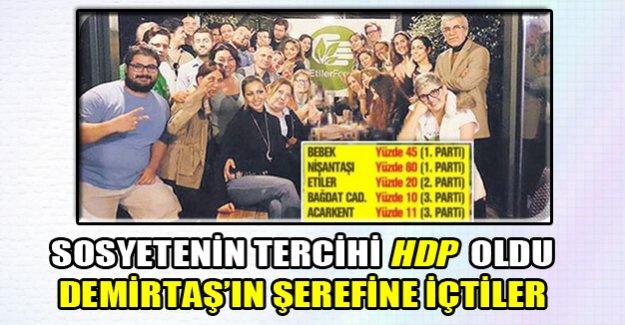 Sosyete'nin HDP kutlaması!