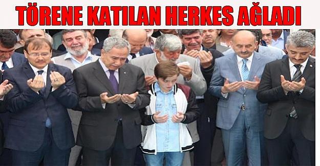 Törene katılan herkes ağladı!