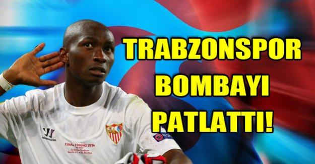 Trabzonspor Mbia'yı bildirdi