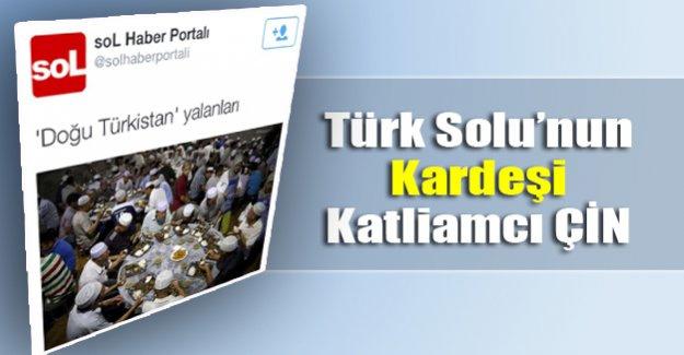 Türk Solu Türkleri katleden Çin'i savundu