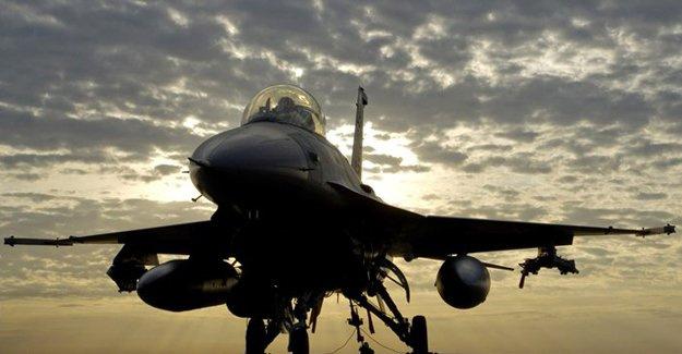 Türkiye jetlerinden IŞİD'e hava bombardımanı