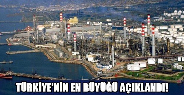Türkiye'nin en büyüğü açıklandı!