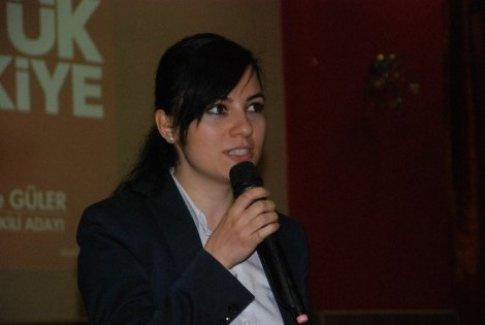 Türkiye'nin en genç kadın vekili oldu