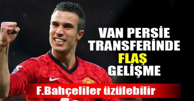 Van Persie transferinde flaş gelişme!