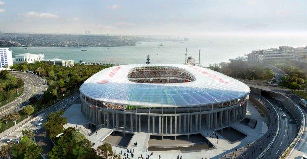 Vodafone Arena'ya şok durdurma!