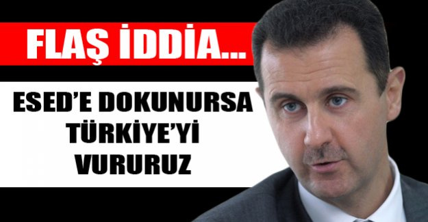 Wikileaks'te Patlayan Belge: Esad'a Müdahale Ederse Türkiye'yi Vururuz