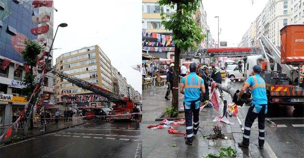 Yağmur İstanbul'u olumsuz etkiledi