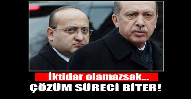 Yalçın Akdoğan, AK Parti iktidarda değilse, çözüm süreci biter