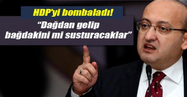 Yalçın Akdoğan'dan açıklamalar