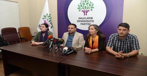HDP darbeye karşı miting yapacağı illeri belirledi