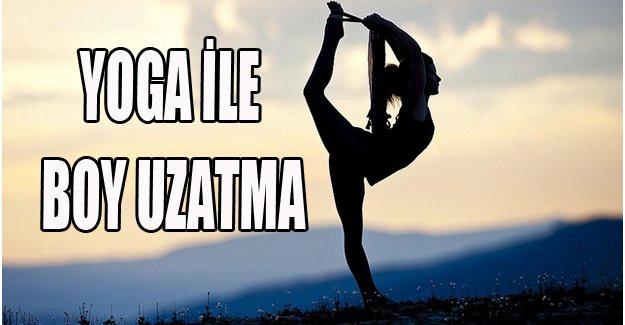 Yoga ile boy uzatma