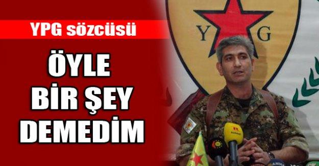 YPG'den Işid açıklaması