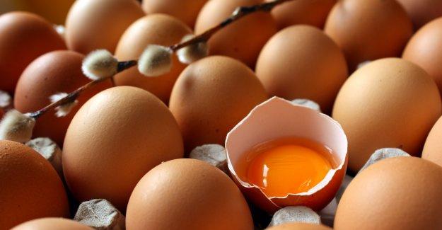 Yumurtaların taze kalması için...
