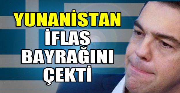 Yunanistan iflas etti!
