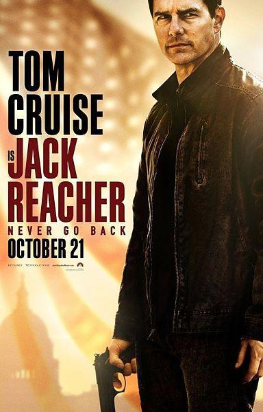"""Orijinal adı Jack Reacher: Never Go Back filminin Türkçeye çevrilen adı ise, """"Jack Reacher: Asla Geri Dönme"""""""