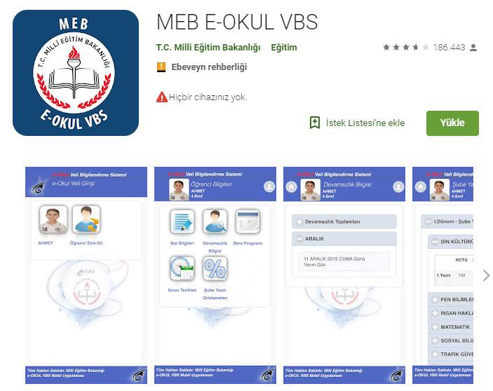 Android e Okul VBS indir linki