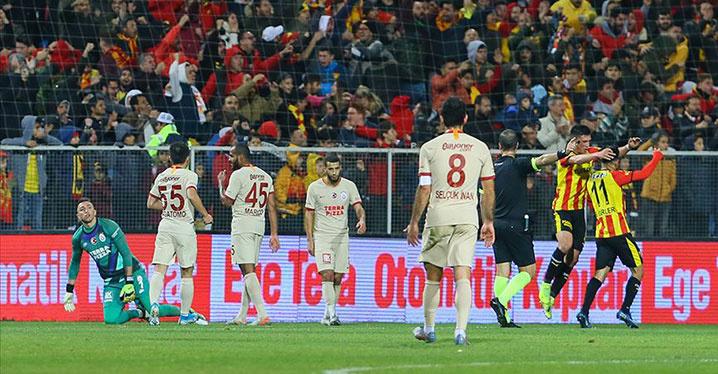 Galatasaray, Göztepe'ye deplasmanda yenildi