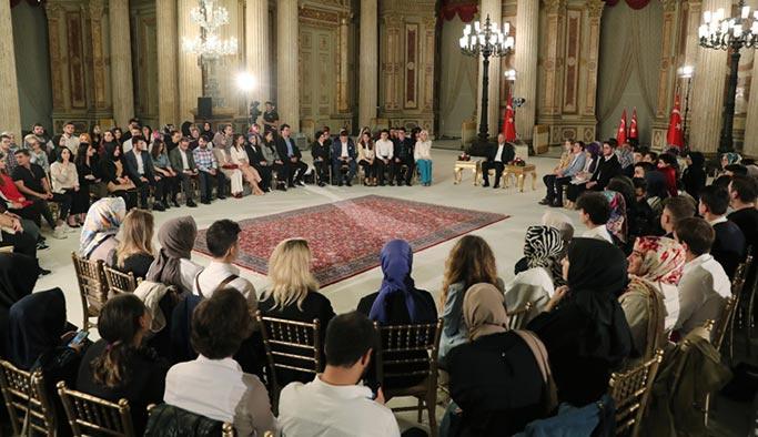 Gençler, Cumhurbaşkanı Erdoğan'a İstanbul seçimlerini sordu