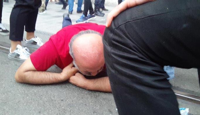 İhsan Eliaçık gözaltına alınırken bayıldı