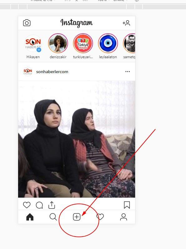 instagramı bilgisayradan programsız şekilde kullanma