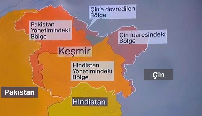 Keşmir Haritası