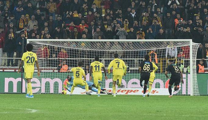 Fenerbahçe, Malatya'dan tartışmalı bir şekilde döndü