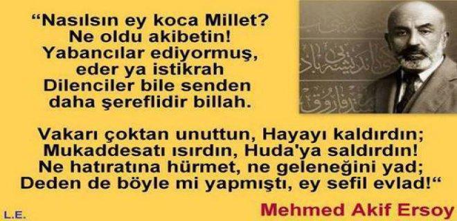 Mehmet Akif Ersoy Şiirleri