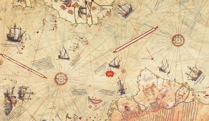 Piri Reis Kimdir Piri reis haritası