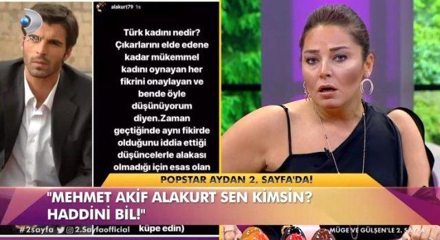 Popstar Aydan - Mehmet Akif Alakurt