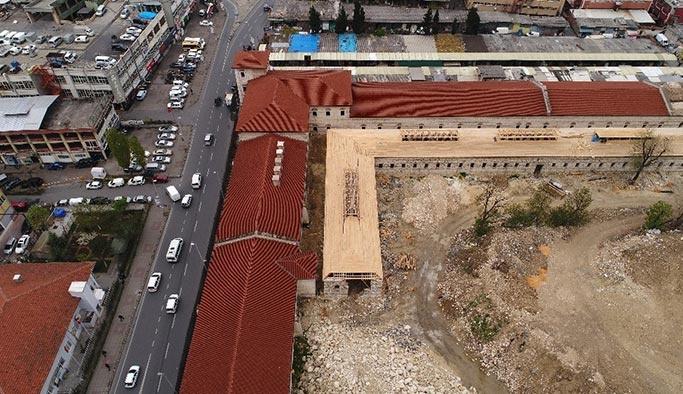 Rami Kışlası Kütüphane oluyor
