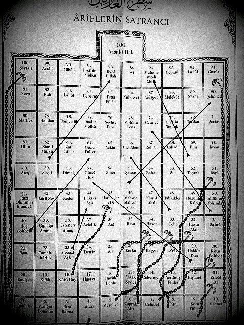 Satrancı urefa ariflerin satrancı