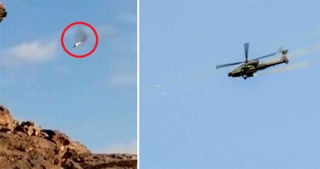Husiler Suudi Arabistan helikopterini düşürdü
