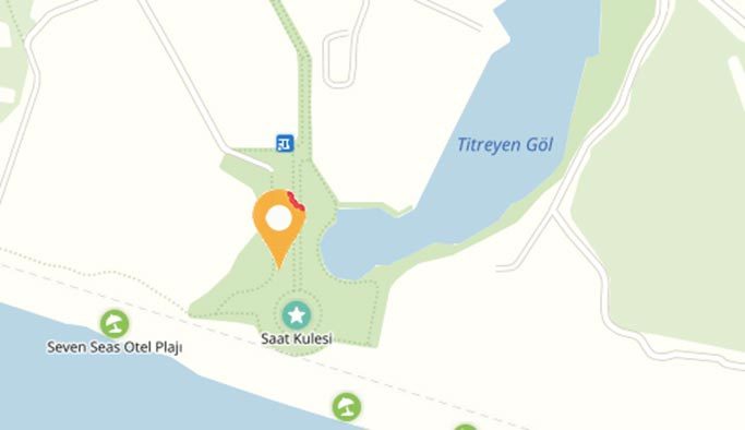 Titreyen Göl Antalya'nın hangi ilçesinde?