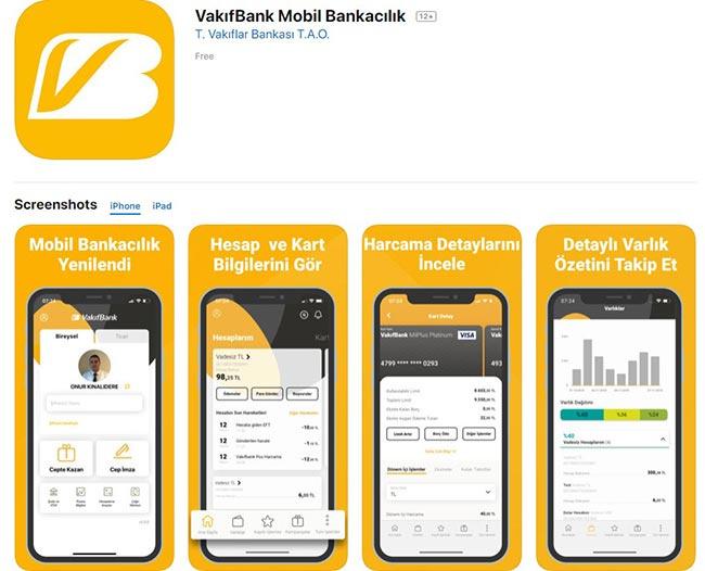 vakıfbank mobil uygulama indir